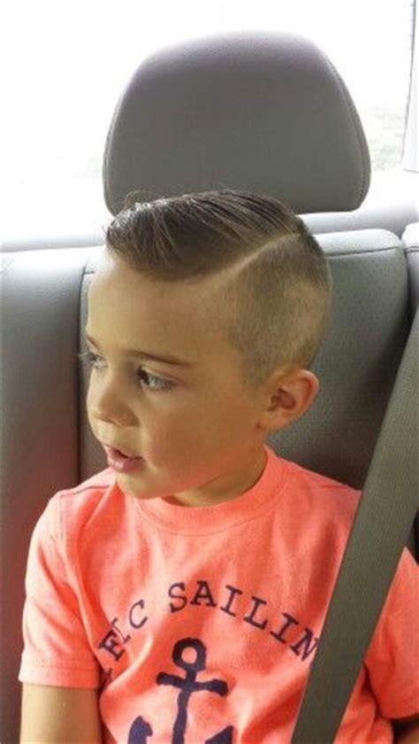 hardpart shavedsidepart littleboyhaircut hair