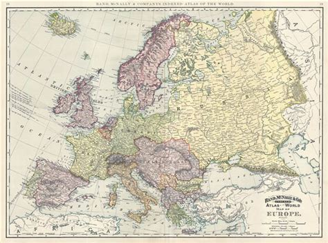 Map of Europe.: Geographicus Rare Antique Maps