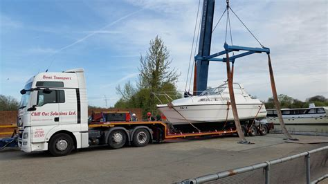 Boat Transport Norfolk by Broom 29 Relocates From To The Norfolk Broads