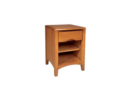 Beech Nightstand by Beechwood Nightstands Provide Bedside Storage With Soft