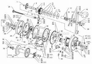 Abu Garcia 7000i C3 Parts List And Diagram