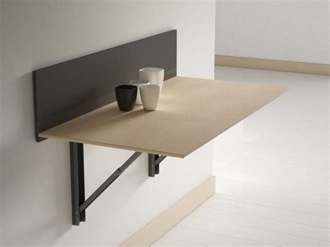 table cuisine rabattable murale click wall mounted table by cancio