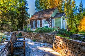 Free, Images, Landscape, Nature, Forest, Architecture, Bench, Countryside, House, Fall, Home