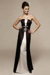 black and white bridesmaid dresses the stylish black and white bridesmaid dresses