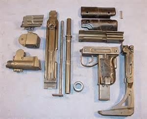 Uzi Submachine Gun Parts