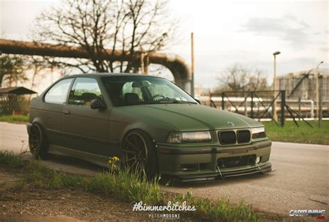 bmw e36 compact tuning stanced bmw 3 compact e36