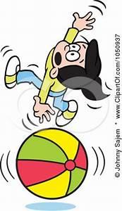 Royalty-Free (RF) Balancing On A Ball Clipart ...