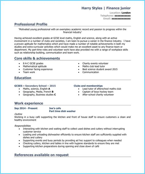 Typical Cv Template by 7 Best Cv Templates Wow Recruiters And Land Interviews