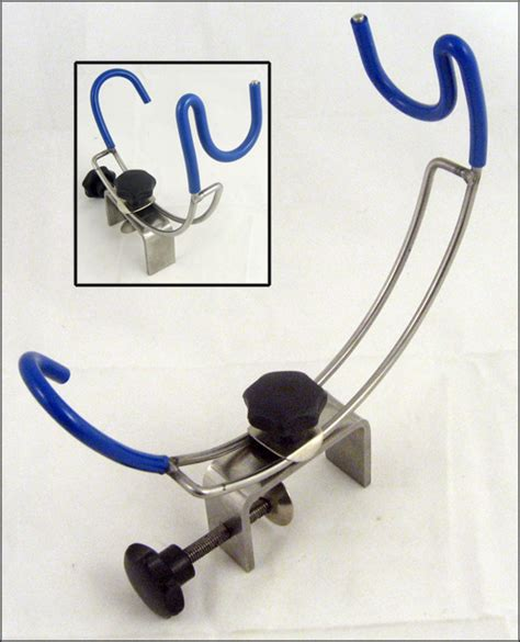 Fishing Rod Holders For Your Boat by Set Of Two Bison Stainless Steel Cl On Boat Fishing Rod