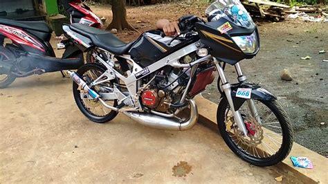 Foto Modifikasi R by Modifikasi Kawasaki R R9 Racing