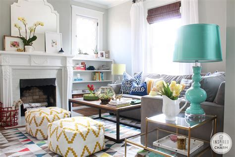 Cheerful And Colored Nautical Living Room Pictures Photos