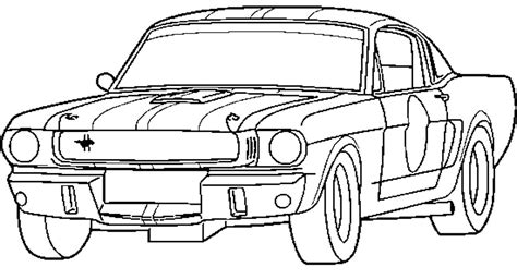 ford coloring pages    print