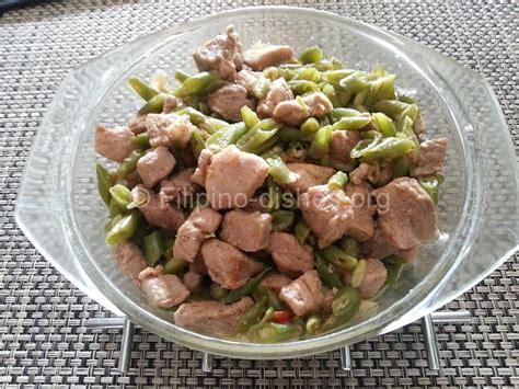 Filipino Baguio Beans Stew Recipe (abitsuelas Guisado