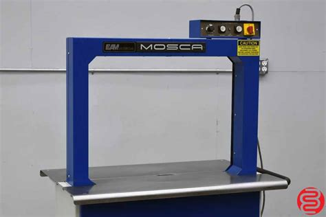 mosca ro  p strapping machine boggs equipment