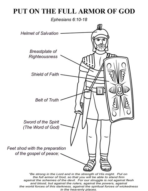 ephesians 6 10 the armor of god great theme for a