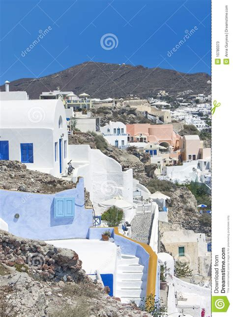 Santorini Oia Stock Image Image Of Cyclades Greek