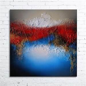 Tableau En Relief : alioth tableau abstrait peinture acrylique en relief ~ Melissatoandfro.com Idées de Décoration