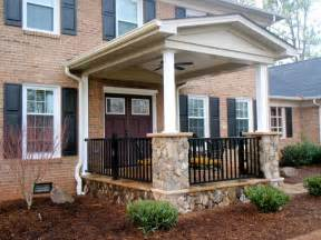 Front Porch Idea Add Aesthetic Appeal Home Home Gardening Idea Front Porch Designs For Minimalist House