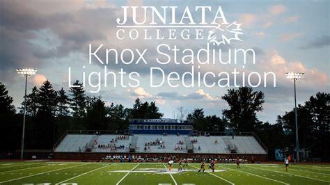 knox stadium lights dedication highlights juniata