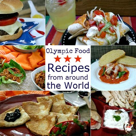 olympic food recipes    world recipe