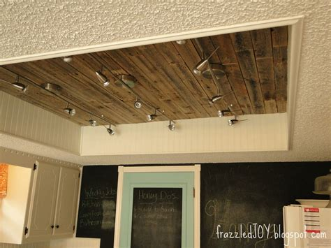kitchen light box new kitchen lighting planked ceiling frazzled 2141