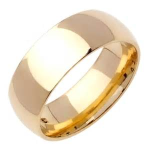 yellow gold wedding bands 18k yellow gold classic wedding bands