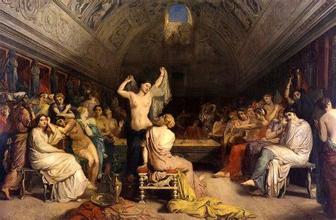 cuisine grecque antique the tepidarium 1853 theodore chasseriau wikiart org
