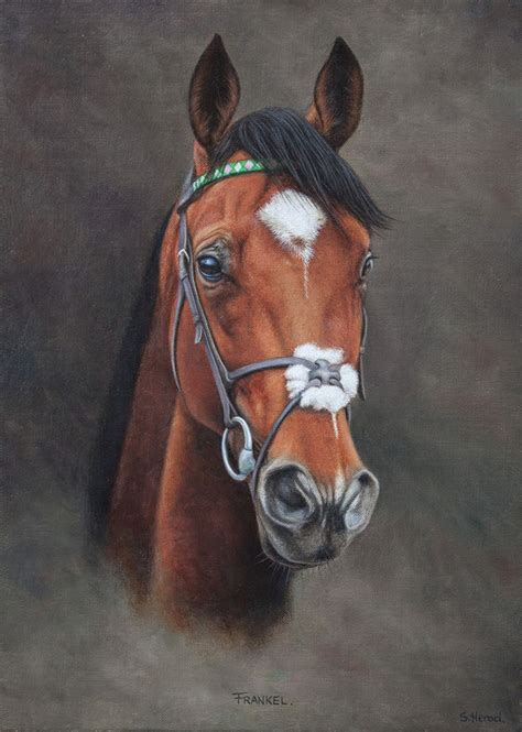 racehorse paintings stuart herod horse painting
