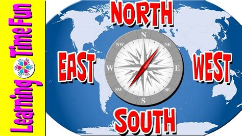 north south east west cardinal directions