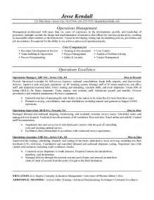 manager resume objective 10 business operations manager resume for writing resume sle writing resume sle