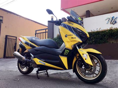Gambar Motor Yamaha Xmax by Modifikasi Motor Xmax Otomotif Keren