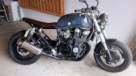 brat style cafe racer honda rc42 cb750 sevenfifty winter garage and project