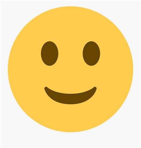 Slight Smile Emoji , Free Transparent Clipart - ClipartKey