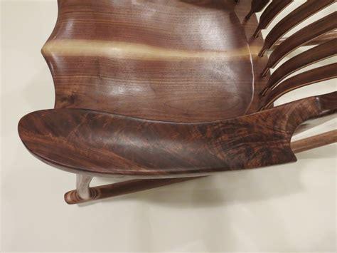 Maloof Rocking Chair Seat by Black Walnut Maloof Rocking Chair By Yellowtruck75