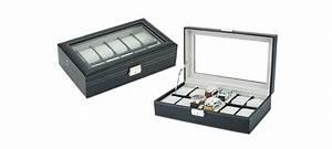 Boite De Montre : boite montres simili cuir coffret pas cher ~ Teatrodelosmanantiales.com Idées de Décoration