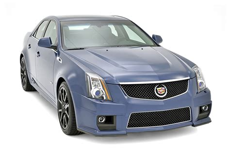 cadillac cts  silver frost  stealth blue limited