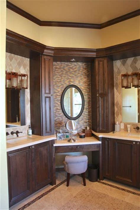 bathroom cabinets with makeup vanity corner vanity cabinet plans woodworking projects plans