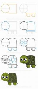 How to draw a turtle (Step-by-step) | Art | Pinterest ...