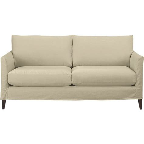 And Barrel Apartment Sofa by Klyne Slipcovered Apartment Sofa In Sofas Crate And