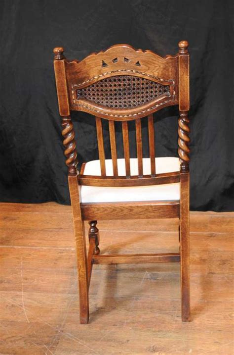 set  barley twist dining chairs kitchen farmhouse chair