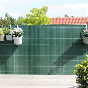 Zaun Sichtschutz Grün : sichtschutzmatte kunststoff r gen gr n ~ Watch28wear.com Haus und Dekorationen