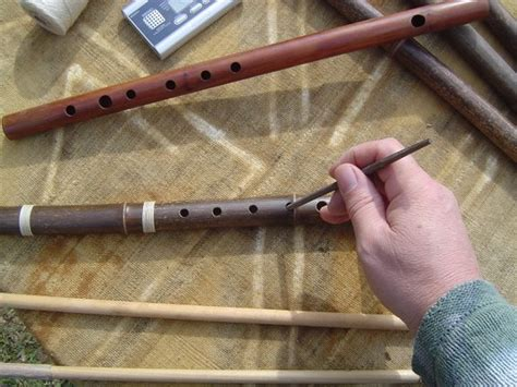 making  transverse bamboo flute photo essay  video