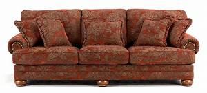 Paisley sofa rocky mountain leather paisley sofa the dump for Leather sectional sofa the dump