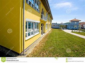 School building stock photo. Image of building, education ...