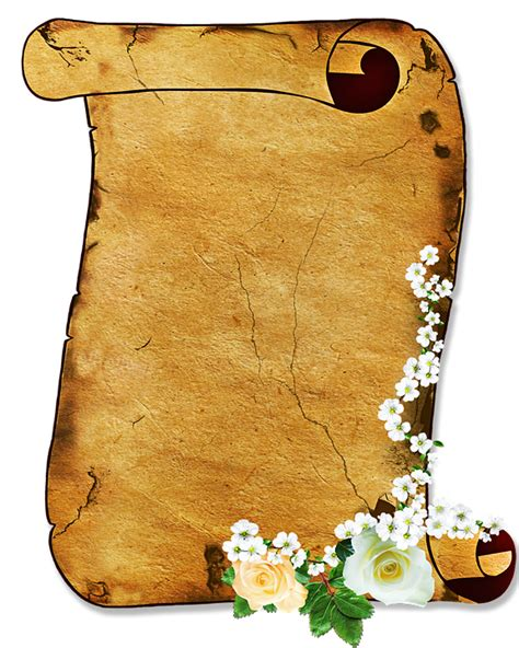 scroll parchment stationery   image  pixabay