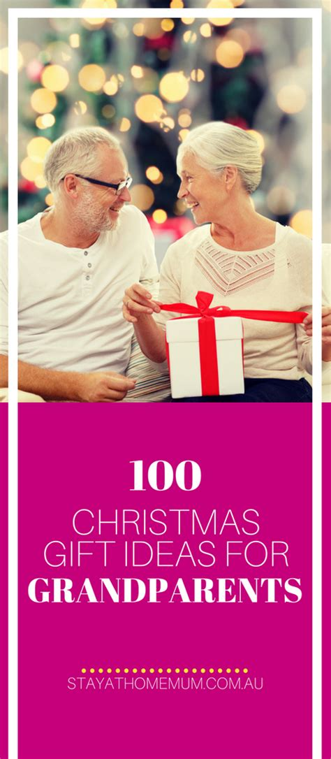 ideas from baby to grandparents for christmas 100 gift ideas for grandparents