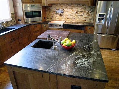 Soapstone Island Countertop by The Granite Gurus An With A Soapstone