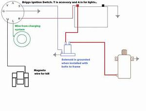 Need Wiring Diagram    Bunton Wb Mower W   17 5hp