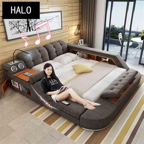 tb europe  america hemp fabric soft bed frame