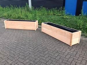 Tischdecke 3 Meter Lang : mooi houten plantenbakken in douglashout ~ Frokenaadalensverden.com Haus und Dekorationen